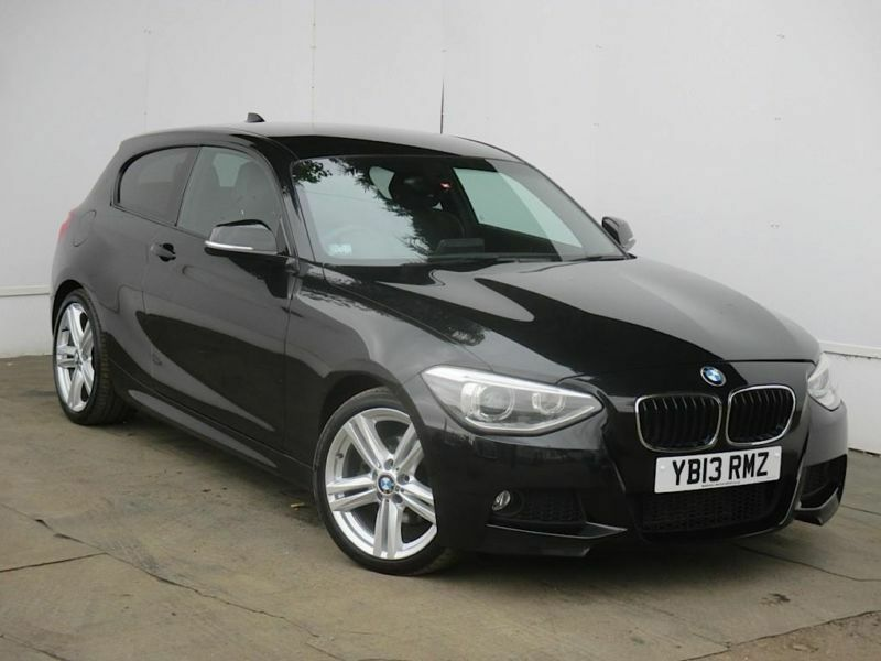 2013 bmw 1 series 1 diesel hatchback 120d m sport 3dr diesel black manual in cambridge. Black Bedroom Furniture Sets. Home Design Ideas