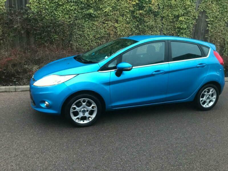 2012 Ford Fiesta 1.25 Zetec 5dr [82] HATCHBACK Petrol Manual