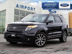 2015 Ford Explorer Limited 4WD with only 64,389 kms