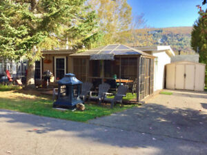 chalet a vendre camping grand r