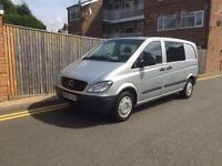 Mercedes-Benz Vito 2.1 CDi Comfort 111 Compact Auto Dualiner 5 SEATER 2009 59 RE