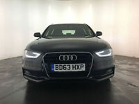 2013 63 AUDI A4 S LINE TDI DIESEL ESTATE 1 OWNER SERVICE HISTORY FINANCE PX