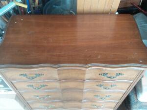 Vintage Malcolm 5 Drawer Dresser