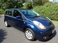 NISSAN NOTE 1.6 (16v) SE - 5 DOOR - AUTOMATIC ** LOW MILES **