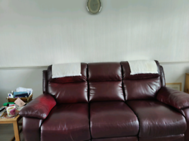 3 Seater Sofa and Chair ( Recliner)
