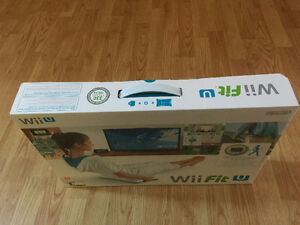 WII Fit U board+games