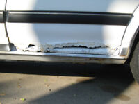 small auto body rust repairs for safety or sales