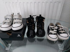Infant converse & river island boots