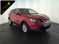 2014 NISSAN QASHQAI ACENTA PREMIUM DCI 1 OWNER NISSAN SERVICE HISTORY FINANCE PX