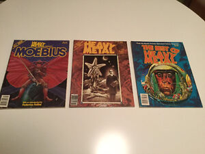 Highly Collectible Heavy Metal Magazines