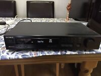 Sony RDS radio HiFi separate