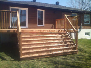 DECK & FENCE - BEST PRICE IN CANADA!!