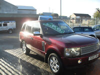 Land Rover Range Rover 4.4 V8 auto 2002 Vogue, LPG CONVERSION