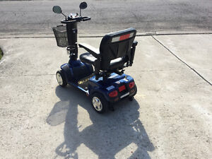 4wheel mobility scooter like new