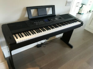 Yamaha DGX-650B Portable Grand Piano