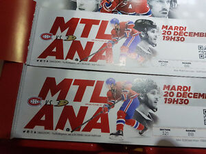 Montreal Canadiens vs Anaheim Ducks 321BB Whites At Cost
