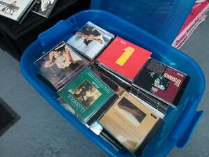 Lot de CD , Musique variée