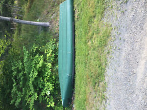 16 ft sports pal canoe wide transome
