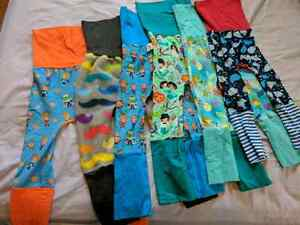 6 pairs of grow with me pants