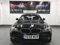BMW 3 SERIES 320D ES Black Auto Diesel, 2008