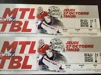 Canadiens/Lightning tickets