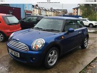 Mini Cooper 2007 facelift model 72k in Electric Blue stunning condition
