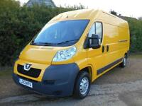 2012 12 PEUGEOT BOXER 2.2HDI 6SPEED LWB L3H2 PROFESSIONAL AIRCON 1 OWNER 89000 M
