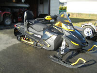 Two up seat off a 2014 Ski Doo 1200 Renegade