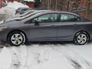 Honda Civic LX 2014 Manual/Standard 55000km