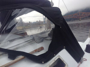 boat canvas repairs and custom fabrications