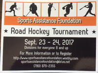 Sports Assistance Foundation Road Hockey Tournament