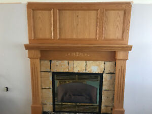 Mantle for a fireplace