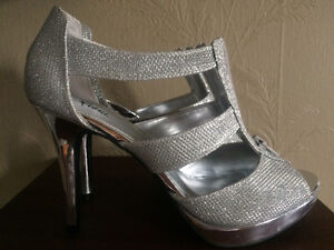***Silver shoes***