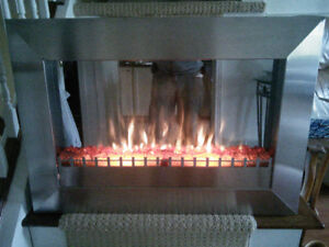 Fireplace Electric / Heater / Remote / Variable Flame