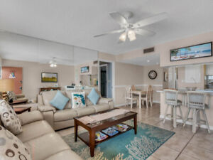 Spacious Beachfront Condo with Gulf View