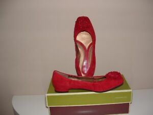 NEW Women's Naturalizer Hillary Shoes Size 6.5 Color Red