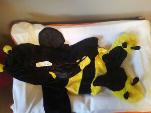 Bumble-Bee 6-12 month Halloween costume.