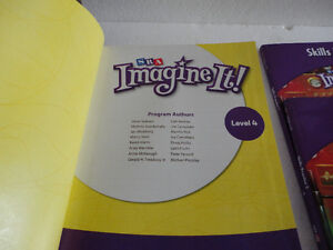 SRA Imagine It 4th grade Reading Textbook hardcover Brand New London Ontario image 2