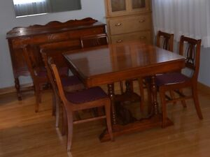 Moving sale! Matching Buffet and Dining Set