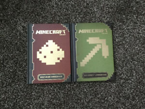 Two Minecraft handbooks for sale!