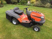 Husqvarna tc130 ride on lawnmower mower