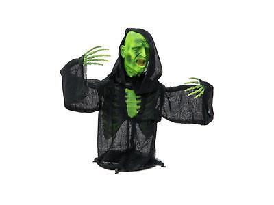 Europalms Halloween Halbierter Zombie Oberkörper mit LED-Lichteffekt