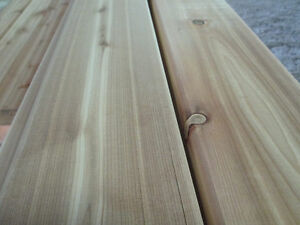 Quality Western Red Cedar Lumber - Deck and Fence Material