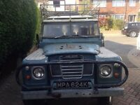 Land Rover series 3 safari station wagon 1972