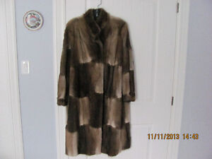 MUSKRAT FUR COAT AND  LOTS OF NICE CLEAN LADIES CLOTHES