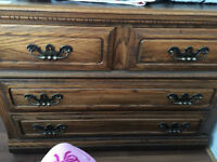 THE WISE SHOP HAS SOLID OAK AMAZING FOREVER DRESSER  QUALITY