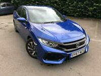 2017 Honda Civic 1.0 VTEC Turbo SE 5dr CVT HATCHBACK Petrol Automatic