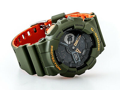 ✅ Casio Herrenuhr G Shock GA-110LN-3AER ✅ Casio Herren Orange Uhren