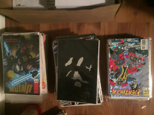 120 comics from the early 1990s.  $5 each or take all for $360.