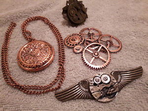 Steampunk jewelry collection $50